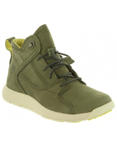 11ff328f1a33ca bottines-Fille-TIMBERLAND-A1SM9 FLYROAM-DARK GREEN Tailles 31