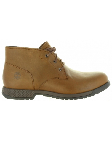 Botines de Hombre TIMBERLAND A1TJZ CITY DARK BROWN