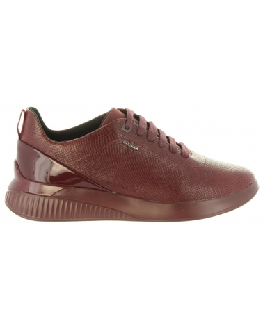 Zapatos de Mujer GEOX D828SC 09DHH D THERAGON C7357 DK BURGUND