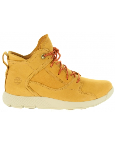 buy popular f157b 970f5 Women Mid boots TIMBERLAND A1V43 FLYROAM WHEAT NUBUCK
