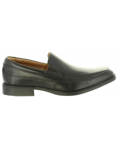 Zapatos de Hombre CLARKS 26110312 TILDEN BLACK LEATHER