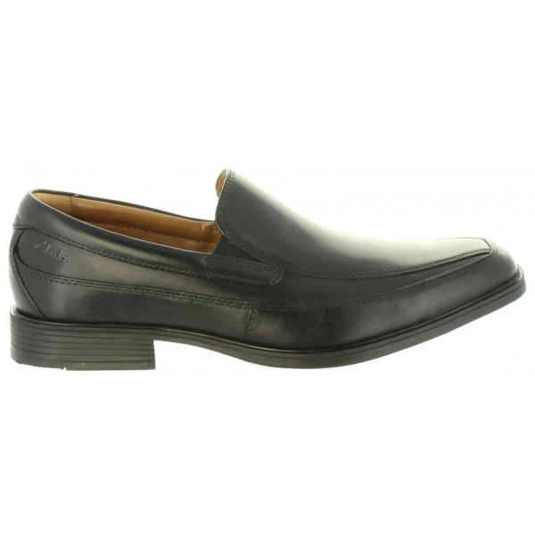 Zapatos Para Clarks Talla Tilden Hombre Leather Black 44 26110312 rrHU6nq