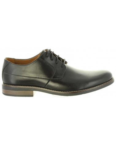 Zapatos de Hombre CLARKS 26123148 BECKEN BLACK LEATHER