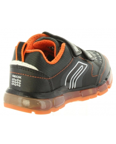 Surtido lo mismo vino  Sports shoes for girl GEOX J8444A 0BU11 J ANDROID C0038 BLACK-ORAN Size 24