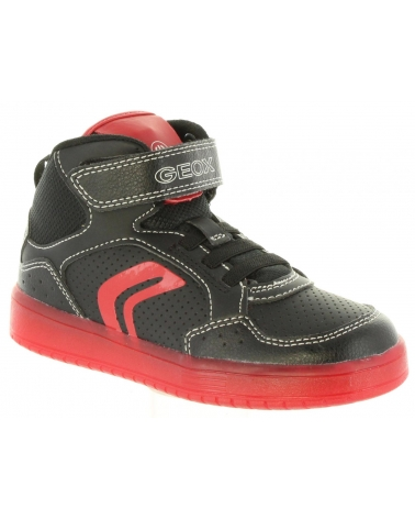 Zapatillas deporte de Niño GEOX J825PC 0BCBU J KOMMODOR C0048 BLACK-RED