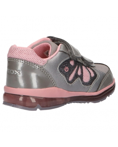 hot sales special for shoe half off Girl Sports shoes GEOX B9485A 0HINF B TODO C1006 GREY