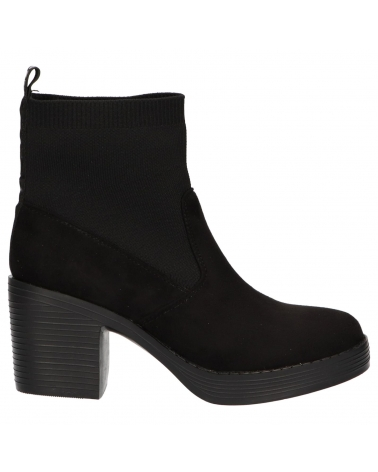 Botines MTNG  de Mujer 58589 C47455 KNIT NEGRO