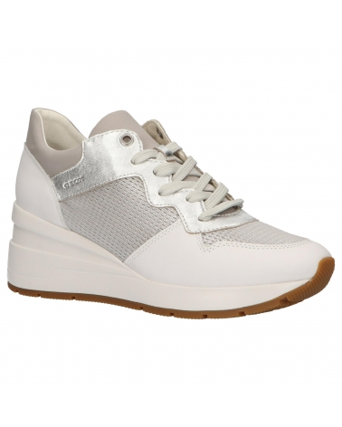 Suyo En consecuencia Apéndice  Sports shoes for woman GEOX D828LC 0LY85 D ZOSMA C0434 SILVER Size 40