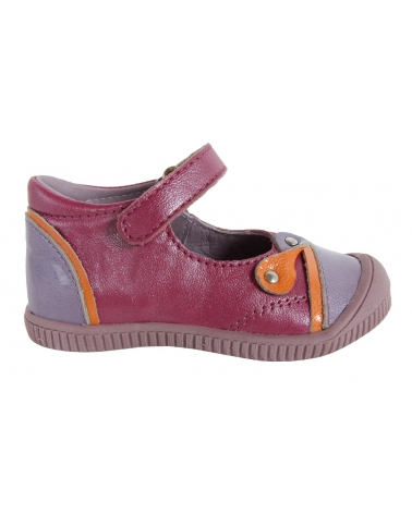 Zapatos de Niña KICKERS 355081-11 NOLITA LILAS ORANGE