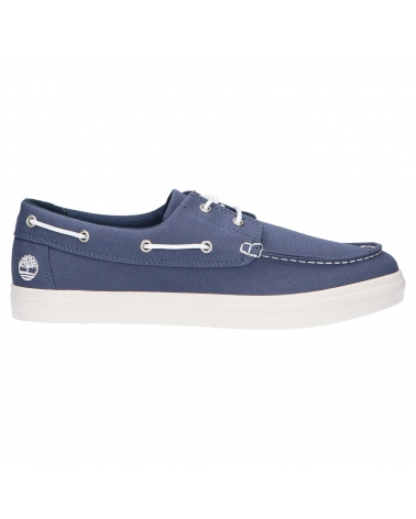Nauticos TIMBERLAND  de Hombre A1XEU Union Wharf Dark Blue Canvas