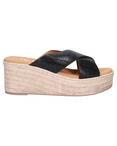 Sandalias OH MY SANDALS  de Mujer 4723-CR2 CRISTAL NEGRO