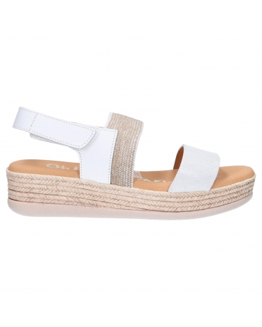 Sandalias OH MY SANDALS  de Mujer 4681-CR1CO CRISTAL BLANCO COMBI