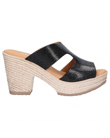 Sandalias OH MY SANDALS  de Mujer 4707-CR2 CRISTAL NEGRO