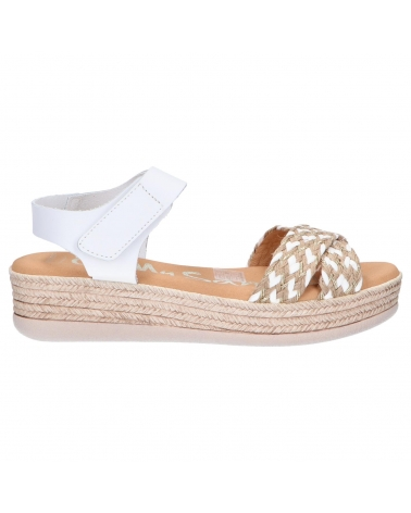 Sandalias OH MY SANDALS  de Mujer 4680-V1CO BLANCO COMBI
